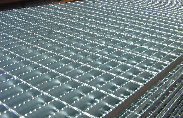 Tấm sàn grating mạ kẽm